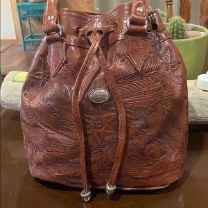 🌵 Host Pick 🌵 Vintage leather American West bag